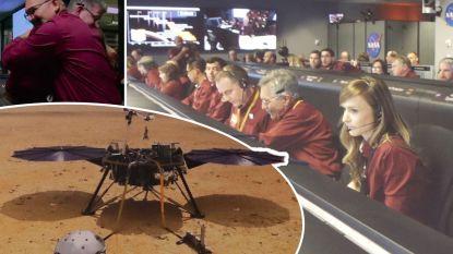 Marslander InSight succesvol geland op rode planeet na spannende reis
