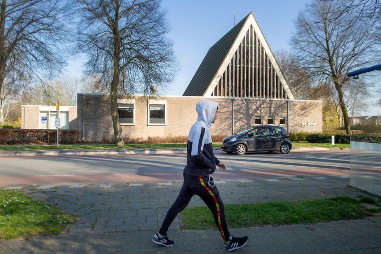In het stadje Hasselt zijn veel mensen getroffen door het coronavirus. Centraal in de besmetting staat kerkelijk centrum De Baak.  Beeld Herman Engbers