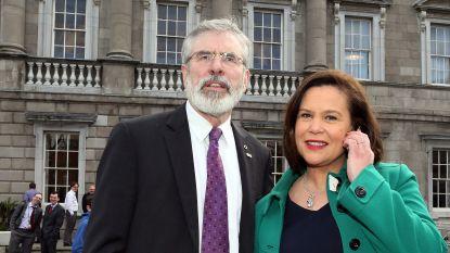 Mary Lou McDonald volgt Gerry Adams op als leider van Sinn Féin