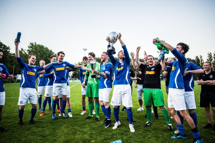 finale Arnhem cup. Eldinia, RKHVV.