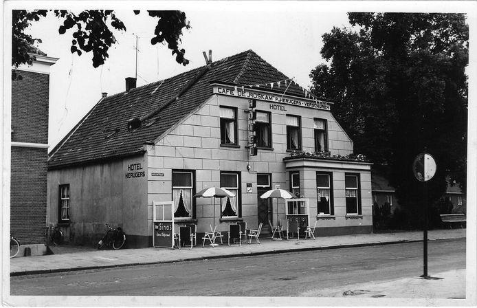 Hotel De Roskam in vervlogen tijden.