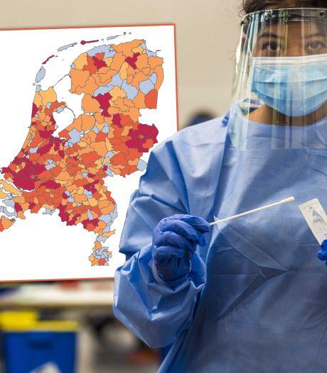 Kaart | Weer recordaantal nieuwe coronabesmettingen, positieve tests in IJsselland verdubbeld