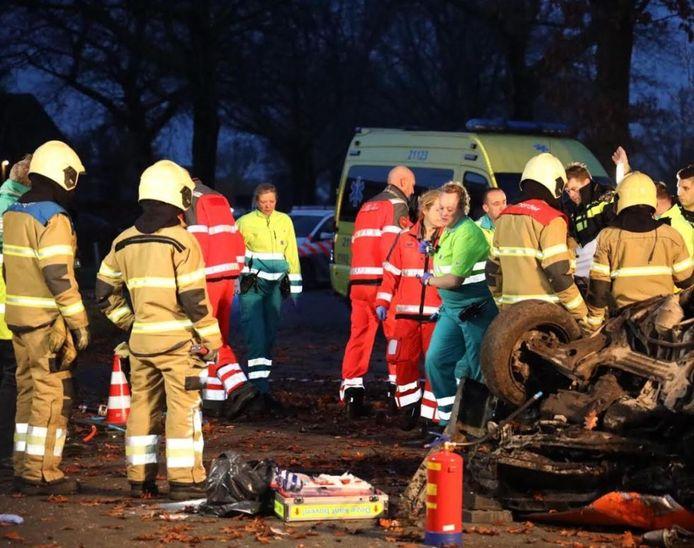 Ongeluk in Venhorst.