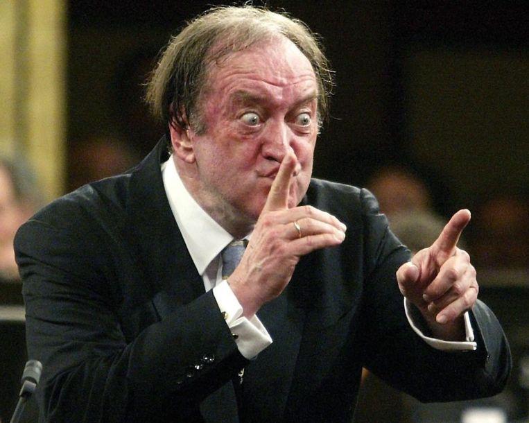 Harnoncourt in 2002. Beeld epa