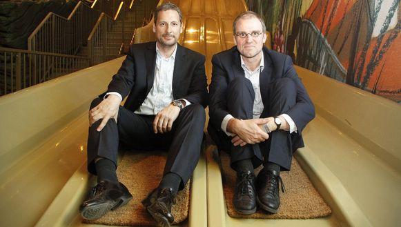 Gert Verhulst en Hans Bourlon