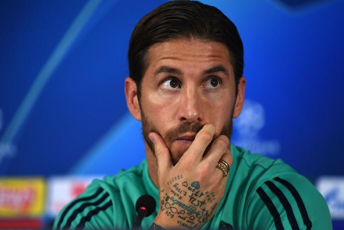 Sergio Ramos A Payé Une Amende Au Fisc Espagnol Football