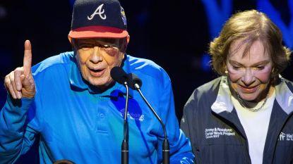 Hechtingen voor oud-president Jimmy Carter (95) na val