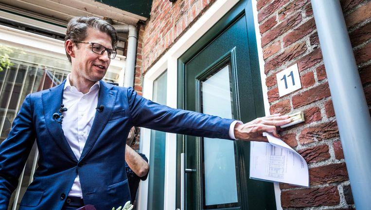 VVD-bewindsman Sander Dekker gaat binnenkort over Veiligheid terwijl CDA'er Ferdinand Grapperhaus op hetzelfde departement als minister van Justitie aan de slag. Beeld anp