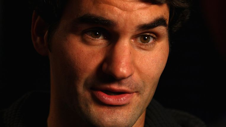 Roger Federer. Beeld getty