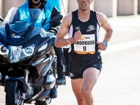 Atleet Khalid Choukoud maakt opwachting bij CPC loop