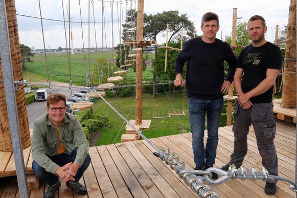 Bram, Ruud en Simon Lenaerts.
