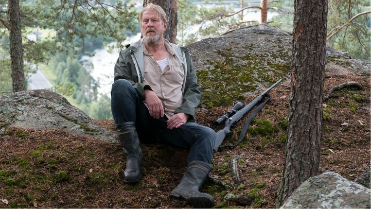 Oud-rechercheur Erik Bäckström The Hunters. Beeld null