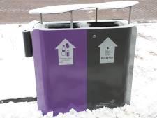 Partijen pleiten voor gescheiden afvalbakken in centra Noordoostpolder