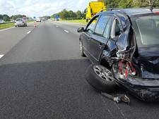 Ongeluk veroorzaakt flinke file op A1 bij Holten
