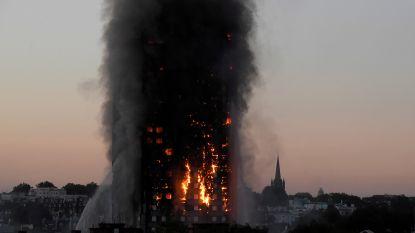 Een jaar na de brand in de Grenfell Tower wonen nog 43 gezinnen in hotels