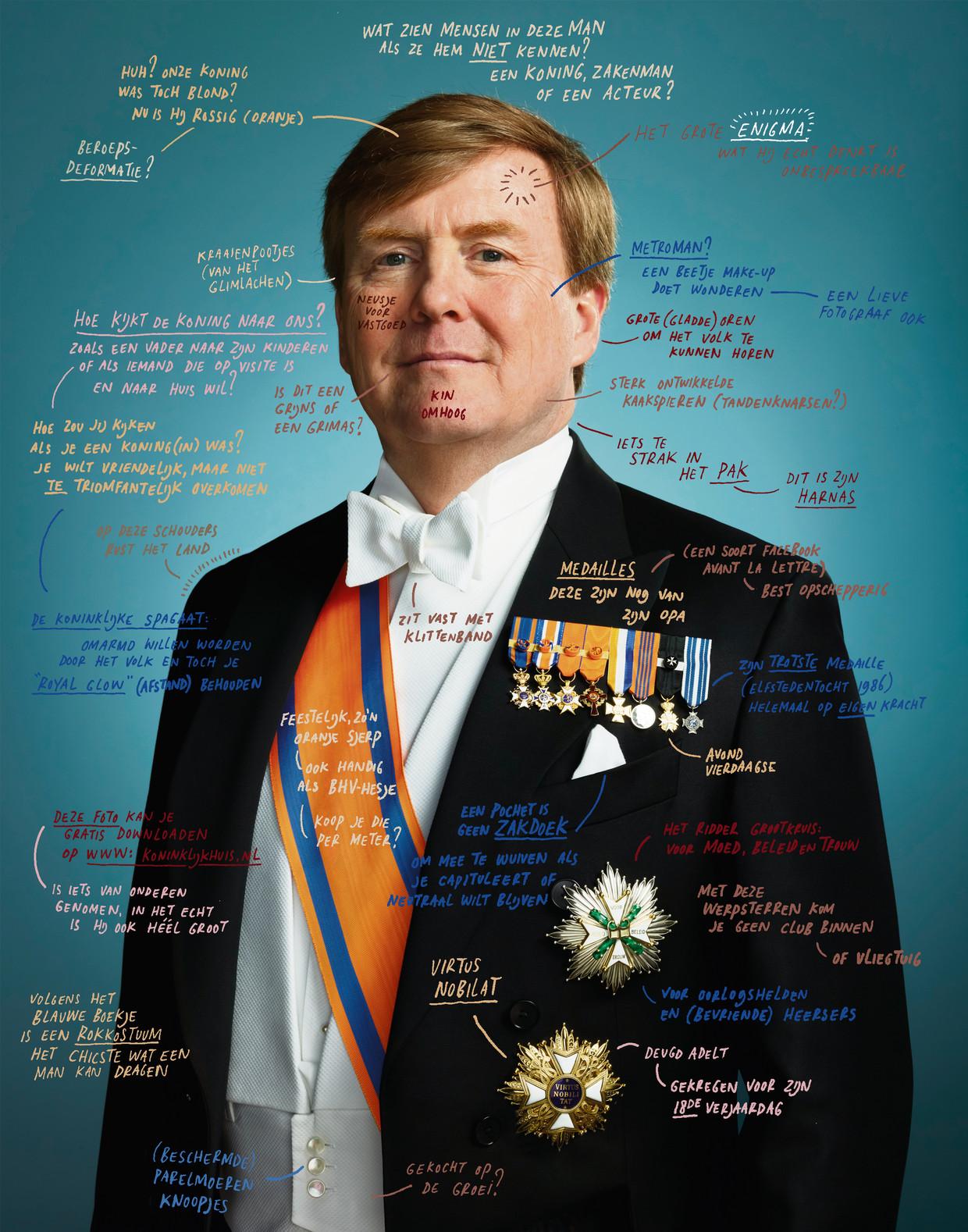 Koning Willem Alexander. Beeld Jan Rothuizen