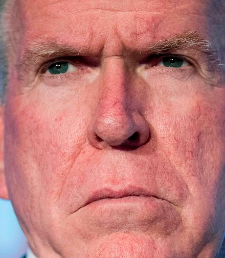 Trump acht voormalig CIA-baas John Brennan niet langer betrouwbaar