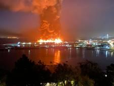 Grote brand verwoest deel historische pier in haven San Francisco