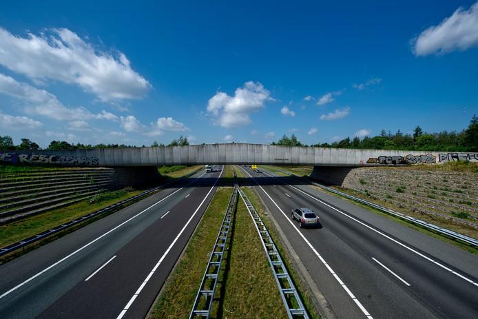 De A1 bij Rijssen.