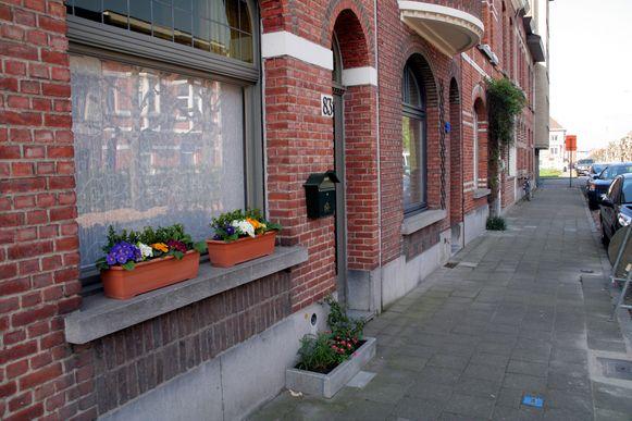 Geveltuintjes in Sint-Niklaas.