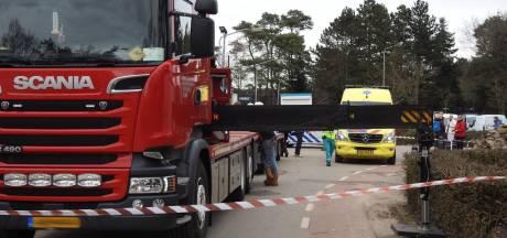 Fietser buiten bewustzijn na botsing met stempel van vrachtwagen in Valkenswaard