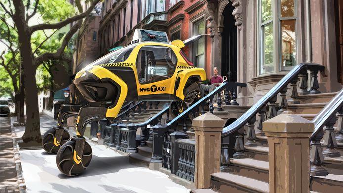 De Elevate moet kunnen klimmen, rijden en reuzenstappen nemen, vindt Hyundai.