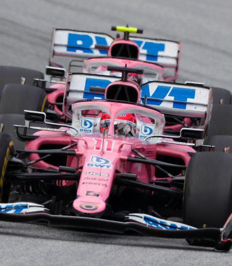 Renault dient protest in tegen wagens Racing Point vanwege kopiëren Mercedes