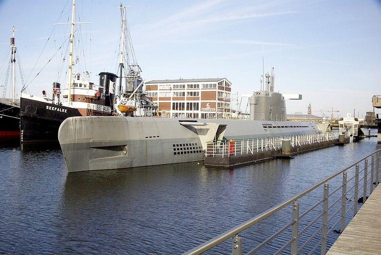 De U-boot Wilhelm Bauer in Bremerhaven.