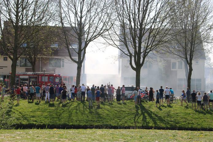 De brand in Zeewolde was snel onder controle