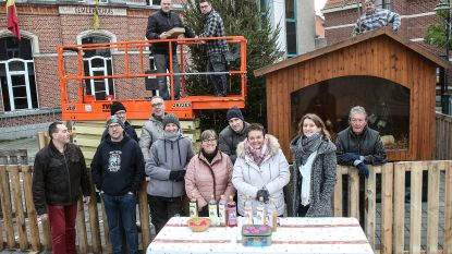 Kerststal in het nieuw dankzij crowdfunding