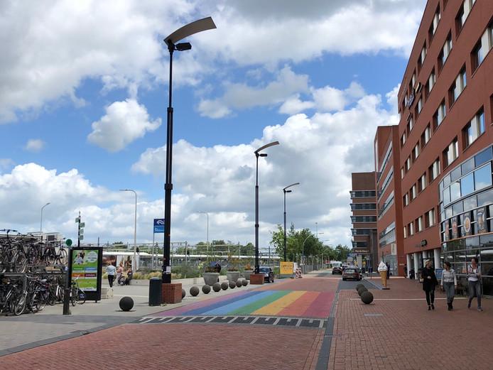 Vanaf maandag worden er aanpassingen verricht aan de Hanzelaan in Zwolle, er geldt daarom tot 26 juli eenrichtingsverkeer voor fietsers en automobilisten.