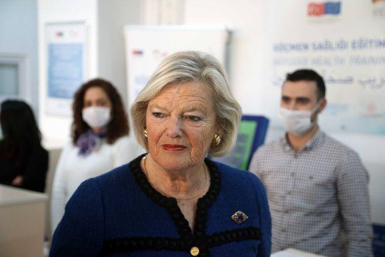 Staatssecretaris Ankie Broekers-Knol (Asiel en Migratie). Beeld ANP