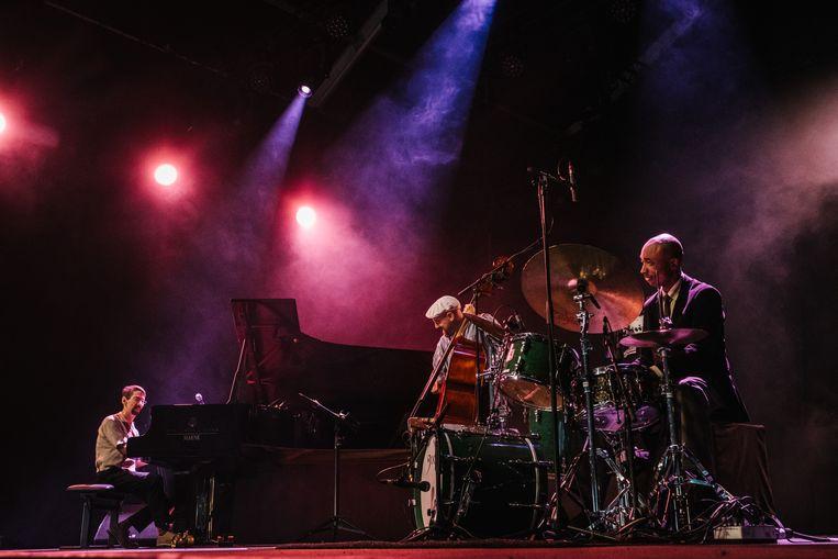 Fred Hersch Trio op Jazz Middelheim. Beeld Wouter Van Vooren
