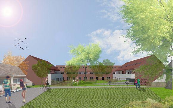 Zo zullen de nieuwe woningen aan de Populierenstraat en de Prieelstraat er gaan uitzien.