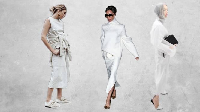 Zo draag je wit in de winter