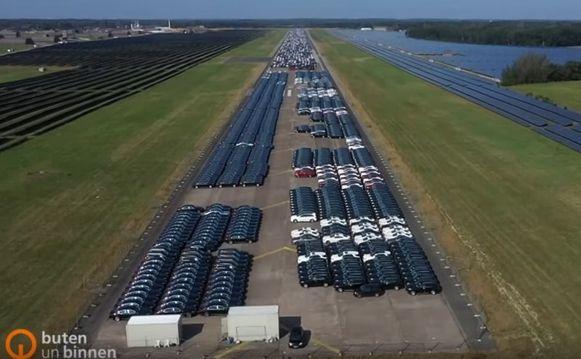 Hier staan meer dan 10.000 probleem-Mercedessen geparkeerd.