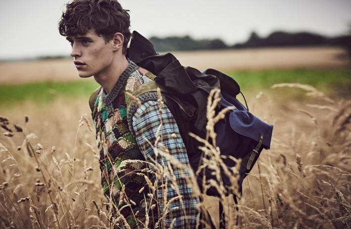 Jordy Baan uit Rijssen werkt als model en reist daarvoor de halve wereld over.