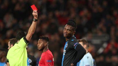 LIVE. Club mag Mignolet danken dat het bij de rust máár 3-0 is voor United, Deli kreeg al snel rood na doldwaze handsbal