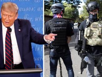 Trump richt zich tot 'Proud Boys': wat we weten over die extreemrechtse knokploeg