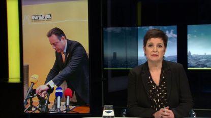 Redactie 'Terzake' excuseert zich nadat logo microfoon VTM NIEUWS gewist was