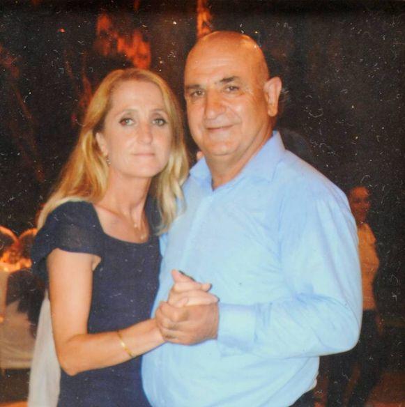 Ali Akyüz en zijn vrouw.
