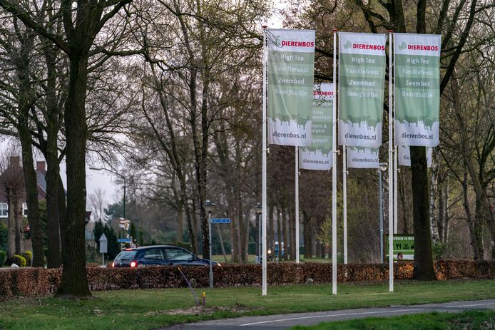 Camping Dierenbos in Vinkel. De gemeente Den Bosch wil een einde maken aan de permanente bewoning op de camping.