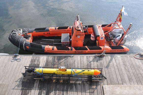 Het VLIZ startte vorig jaar ook al het Marine Robotics Centre op