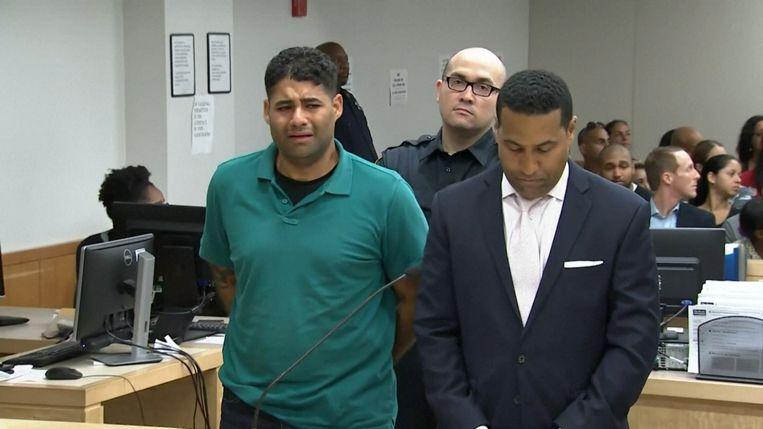Juan Rodriguez was ontroostbaar toen hij in de rechtbank verscheen.