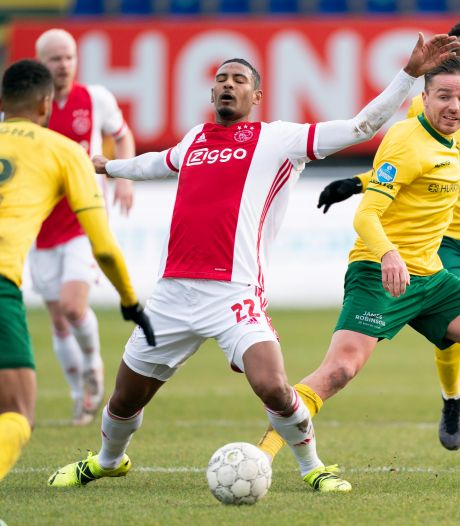 Ajax wint dankzij winteraankoop Haller zeer moeizaam bij Fortuna