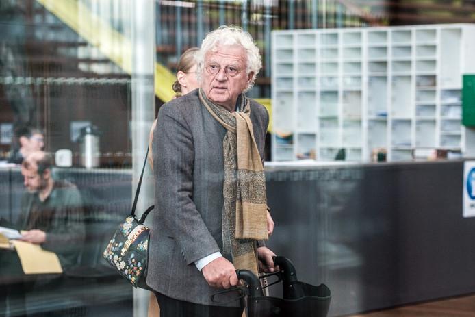 Uroloog Bo Coolsaet in de Antwerpse rechtbank.