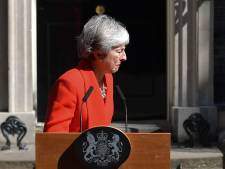 Theresa May in tranen: Britse premier stapt 7 juni op