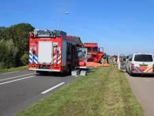 Hellevoetse fietsster (79) overleden na aanrijding met vrachtwagen op Westvoorneweg