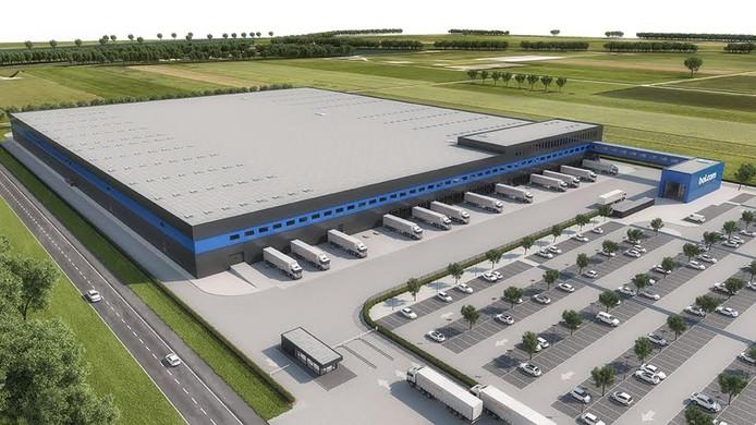 Een impressie van het nieuwe distributiecentrum in Waalwijk.