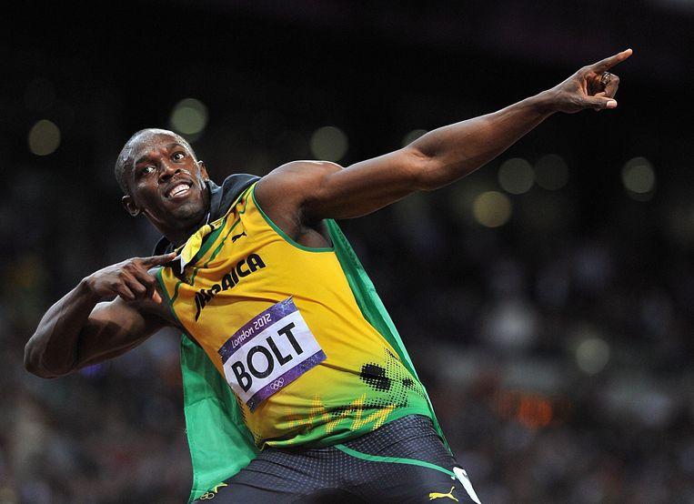 Usain Bolt, één van Evenepoels grootste jeugdidolen.